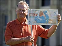 Jack Nicklaus and his special fiver