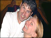 Lee Harris and Samantha Badham