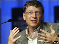 Microsoft chairman Bill Gates, AFP/Getty