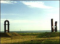 Памятник жертвам АЛЖИРа