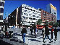 Stockholm street, BBC