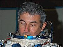 Marcos Pontes, astronauta brasilero.