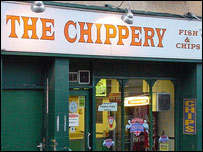 Llandeilo chip shop