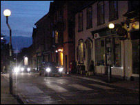 Llandeilo at night