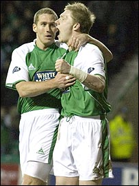 Garry O'Connor and Chris Killen celebrate