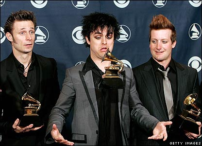 Green Day at the Grammy Awards