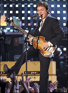 Sir Paul McCartney at the Grammy Awards