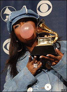 Missy Elliott at the Grammy Awards