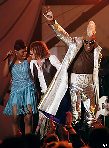 Sly Stone at the Grammy Awards
