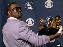 Kanye West at Grammy Awards