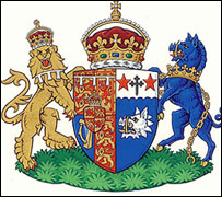 Coat of arms for the Duchess of Cornwall
