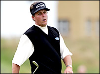 World number four Phil Mickelson
