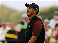 Tiger Woods enjoys his final round