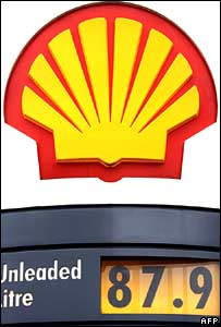Shell logo at petrol station.  Image: AFP/Getty