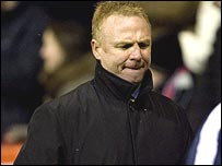 Alex McLeish watched his side lose again on Wednesday
