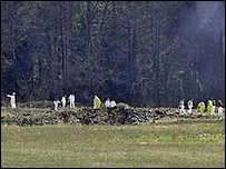 United Airlines flight 93 crash site