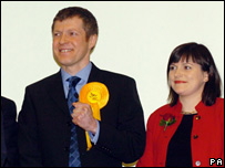 Willie Rennie and Catherine Stihler