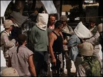 """لقطة من فيلم """"وادي الذئاب:العراق"""""""