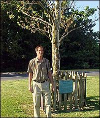 Moon Tree at Goddard