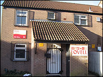 Lovell site office in St Mellons