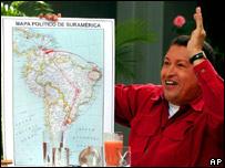 Presidente de Venezuela Hugo Chávez