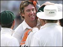 McGrath congratulated in New Zealand