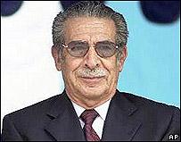 ex presidente de Guatemala, José Efraín Ríos Montt