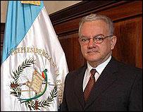 Vice Presidente de Guatemala, Eduardo Stein (Foto: Presidencia de Guatemala)