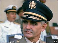 Gen William Westmoreland pictured in 1964