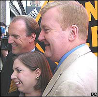 Simon Hughes, Sarah Teather and Charles Kennedy