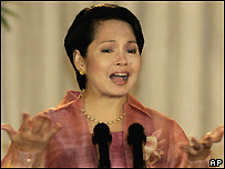 Gloria Arroyo, 19 July 2005