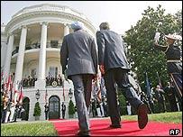 Mr Bush and Mr Singh