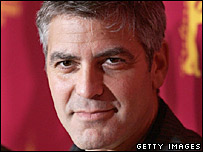 George Clooney, at the Berlin Film Festival