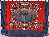 One of the banners
