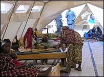 Campamento de Médicos sin Fronteras