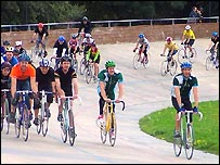 Herne Hill Velodrome, courtesy of the London Velodrome Trust