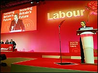 Tony Blair at Labour Spring Conference