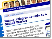 The Canadian Immigration Service's points plan