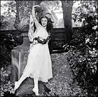 Bailarina rusa Anna Pavlova