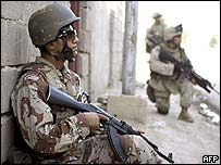 US forces in Falluja