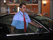 Mohan Mariwala at Mercedes Benz in Mumbai