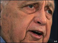 Ariel Sharon. File photo