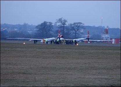 Emergency crews rush to Steve Fossett's plane