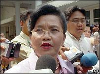 Indonesian Health Minister Siti Fadila Supari