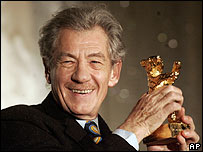 Sir Ian McKellen at the Berlin Film Festival