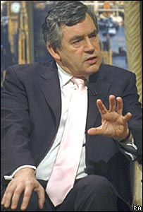 Gordon Brown on Sunday AM