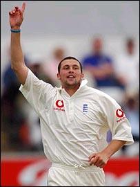 England pace bowler Stephen Harmison