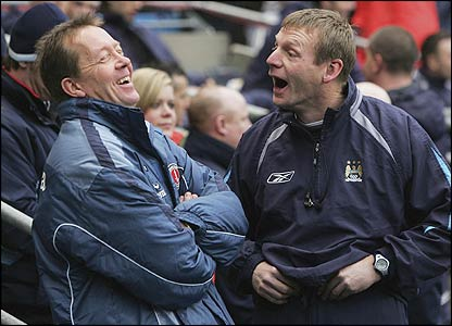 Alan Curbishley and Stuart Pearce