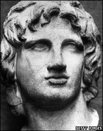 Alexander the Great was ruler of Macedonia