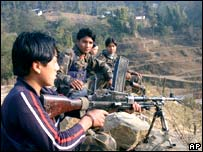 Nepali Maoist rebels 